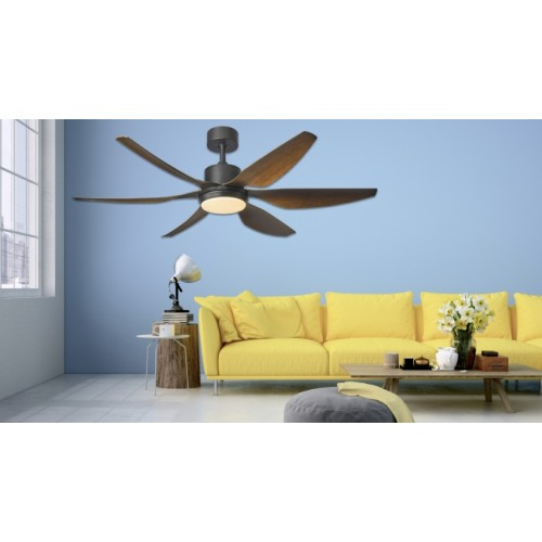 FANCO 56 HELI MADEIRA DC CEILING FAN