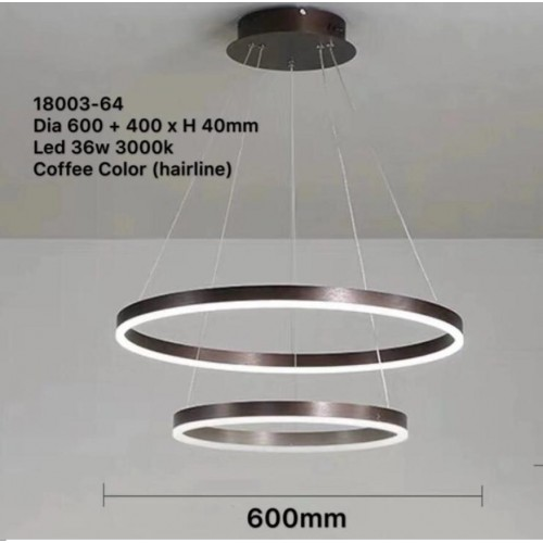 Angel Ring led pendant light
