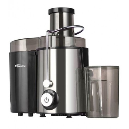 JUICE EXTRACTOR WITH 2 SPEED SELECTOR AND STAINLESS STEEL BLADES PP3405