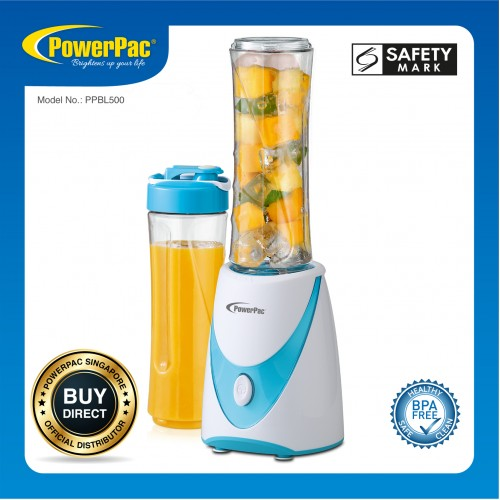 PERSONAL JUICE BLENDER WITH 2X BPA FREE JUGS PPBL500