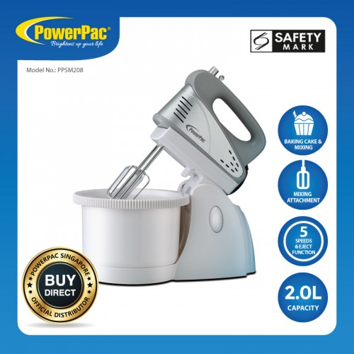 HAND / STAND MIXER WITH BOWL PPSM208