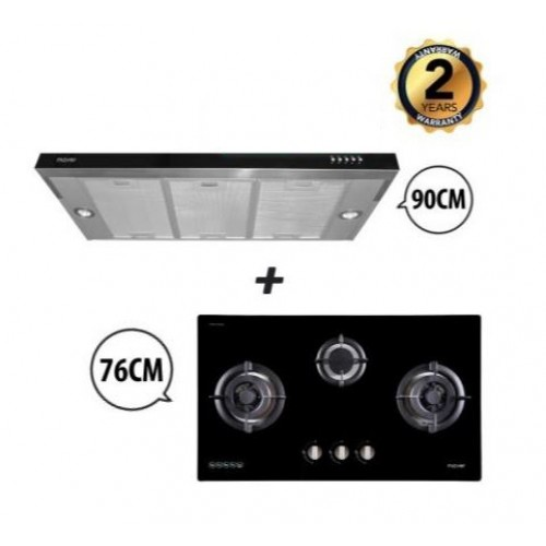 MAYER HOOD & HOB PACKAGE MMGH773 + MMS1900HS