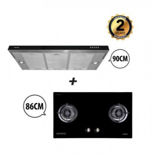 MAYER HOOD & HOB PACKAGE MMGH882H + MMS1900HS
