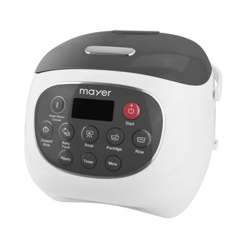 Mayer 0.8 L Rice Cooker with Ceramic Pot -MMRC20