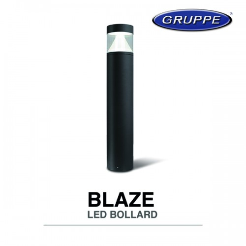 BLAZE LED BOLLARD 12W 800mm 3000K IP65