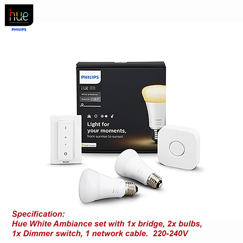 Philips HueAmbiance 9.5W A60 E27 set