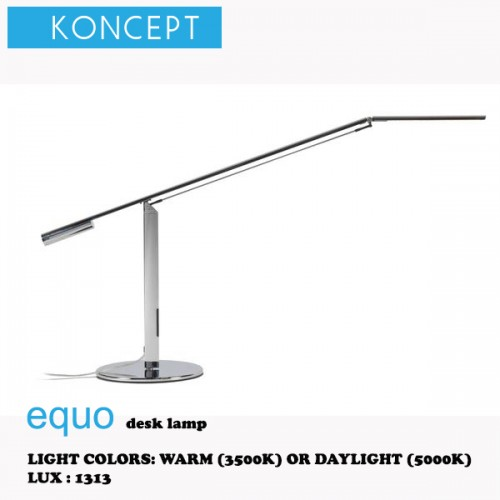 KONCEPT EQUO DESK LAMP CHROME