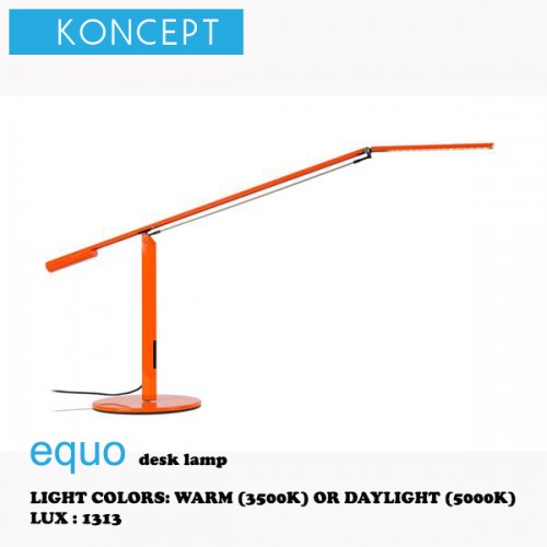 KONCEPT EQUO DESK LAMP ORANGE