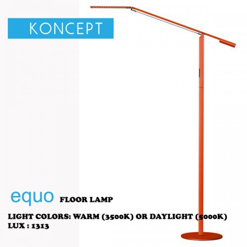 KONCEPT EQUO FLOOR LAMP ORANGE
