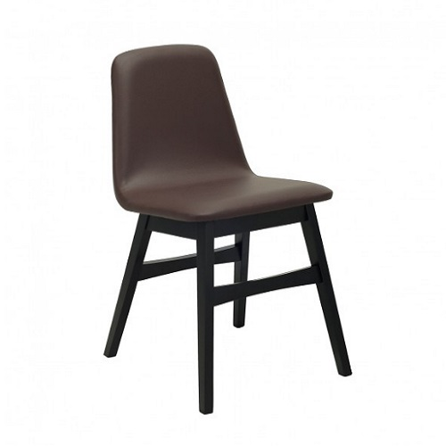 AVICE BLACK MOCHA DINING CHAIR - 24092612.8533-807