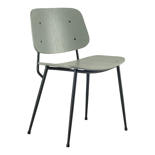 MARTHA DINING CHAIR METAL LEG - 2407102