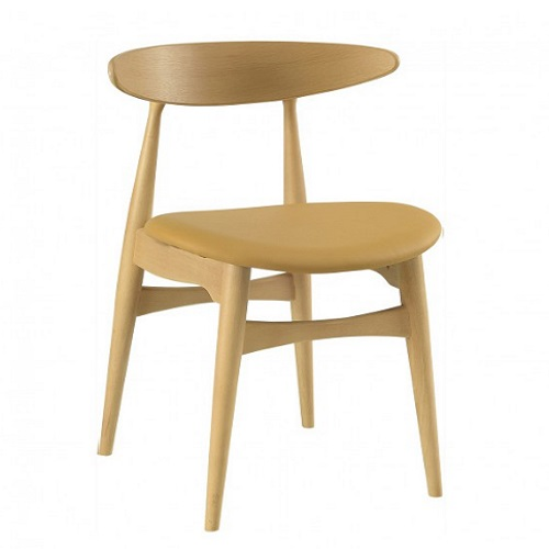 TRICIA CARAMEL DINING CHAIR - 24092422.8522-729