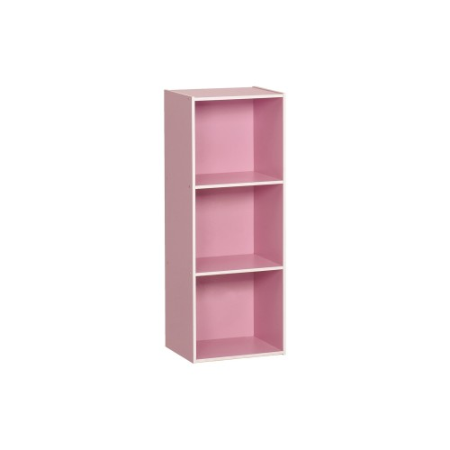 3 Tier pink book shelve - 5513001