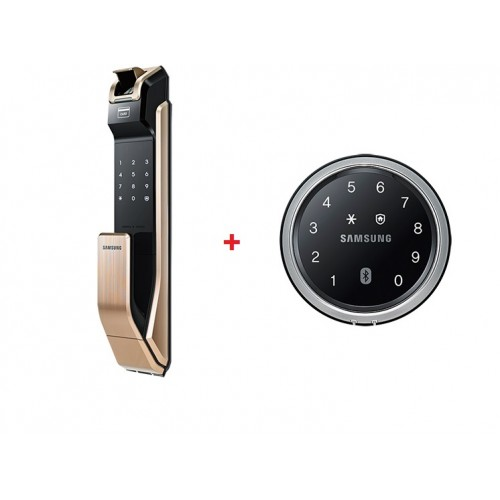 BTO package - Samsung Digital Door lock for metal gate and main door