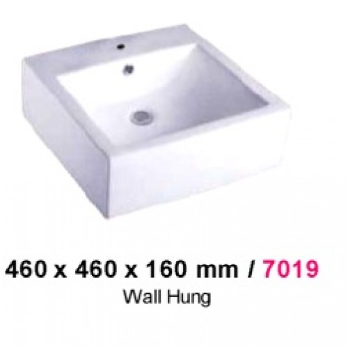 BARON 7019 WALL HUNG BASIN