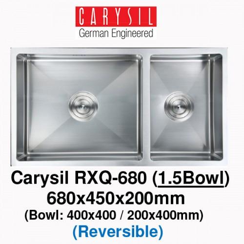 CARYSIL RXQ680 STAINLESS STEEL KITCHEN SINK