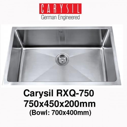 CARYSIL RXQ750 STAINLESS STEEL KITCHEN SINK