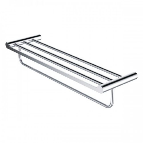 ACB 01-16B BRASS DOUBLE TOWEL RACK