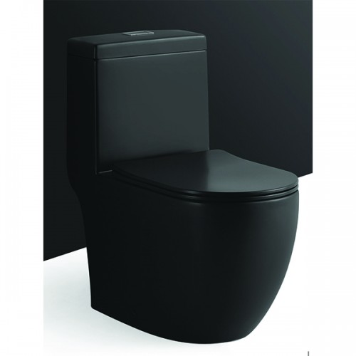 MAGNUM WC-938 TURBO TORNADO BLACK TOILET BOWL