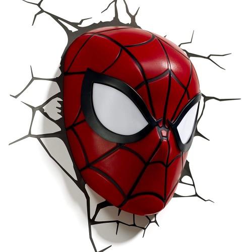 3D Spider Man Mask Light