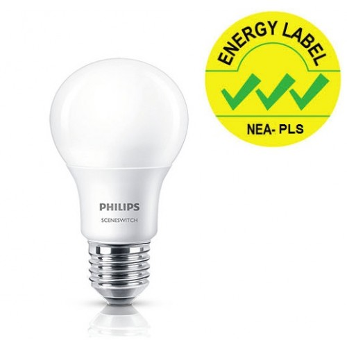 PHILIPS LED SSW A60 8-70W E27 WH-CDL