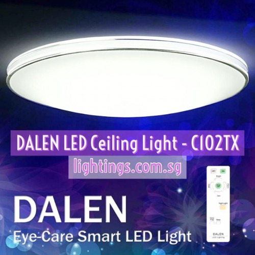 DALEN LED CEILING DL-C102TX SV STARSKY