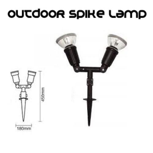 OUTDOOR PAR38 2L SPIKE LIGHT
