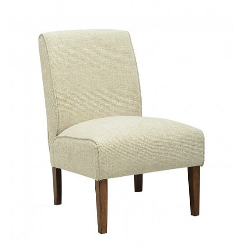 ACCENT ALMOND LOUNGE CHAIR - 231069