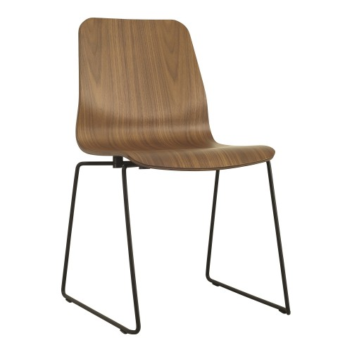 Alyssa dining chair with Metal leg