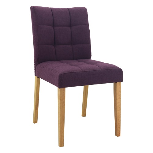 DAVIN VIOLET DINING CHAIR - 241062