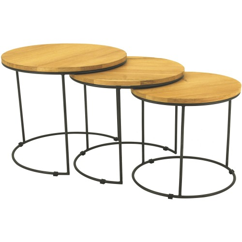 ELIGIO COFFEE TABLE SET - 130001