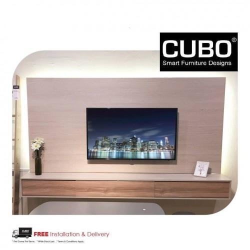 CUBO HTCB- 8FT TV CONSOLE