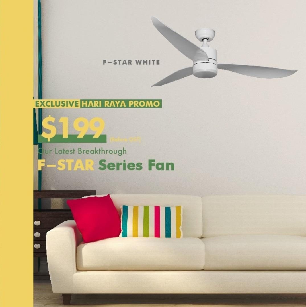Fanco F Star Dc Ceiling Fan Lightings Com Sg