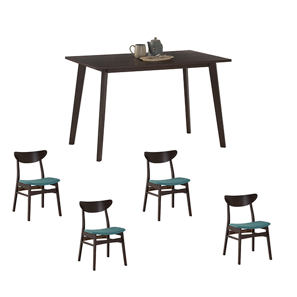 dining set with 4 audrey chair